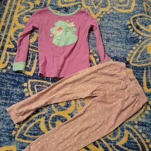 5/$10 Girls 5T PJs Mismatched Pants Top